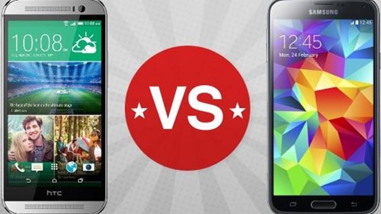 HTC One M8, Galaxy S5'den daha iyi!
