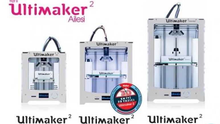 Ultimaker'dan 2 farklı 3D yazıcı