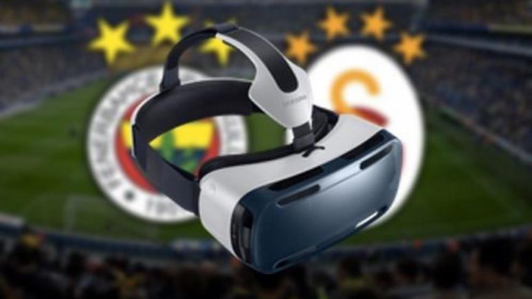 Fenerbahçe - Galatasaray derbisi Gear VR ile izlenebilecek