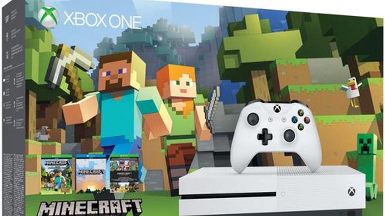 Xbox One S Minecraft paketi ülkemizde satışa sunuldu