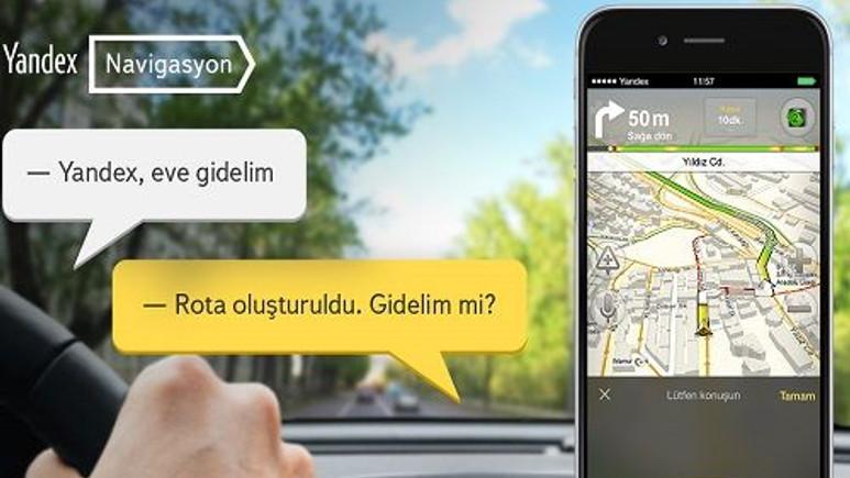 Yandex Navigasyon ile Türkçe konuşun