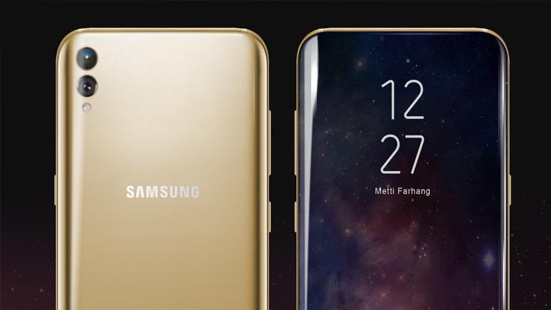 Galaxy S9 ekranı ile fark yaratacak!