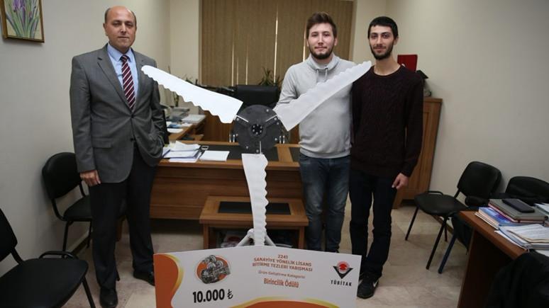 Türk mucitler, balinadan esinlenerek rüzgar türbini tasarladı!