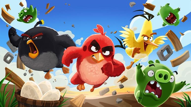 Angry Birds, Messenger'da!