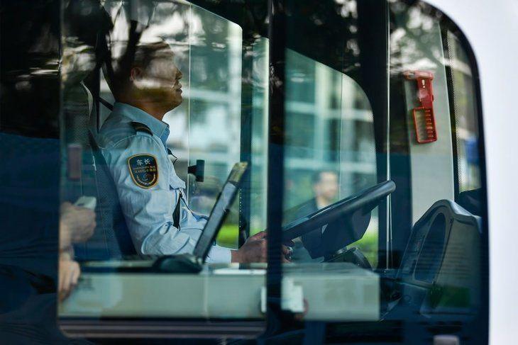 Çin'in insansız otobüsleri yollarda - Page 1
