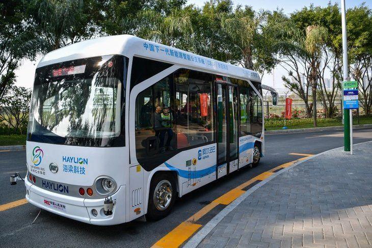 Çin'in insansız otobüsleri yollarda - Page 2