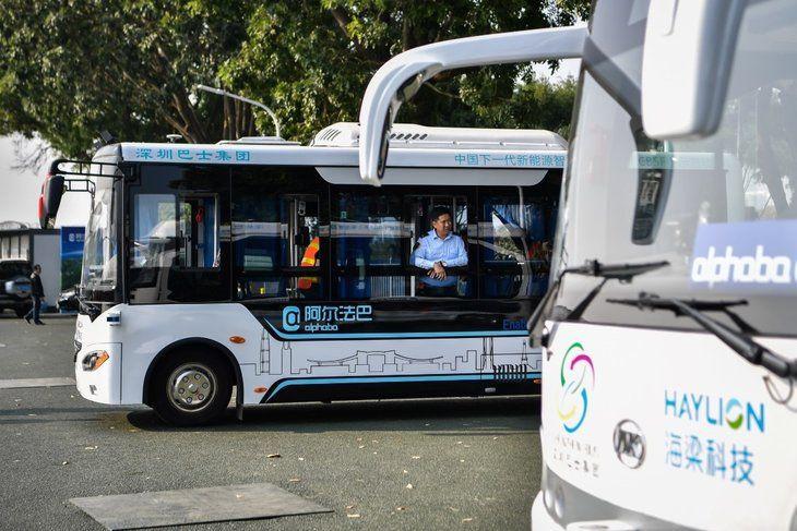 Çin'in insansız otobüsleri yollarda - Page 4