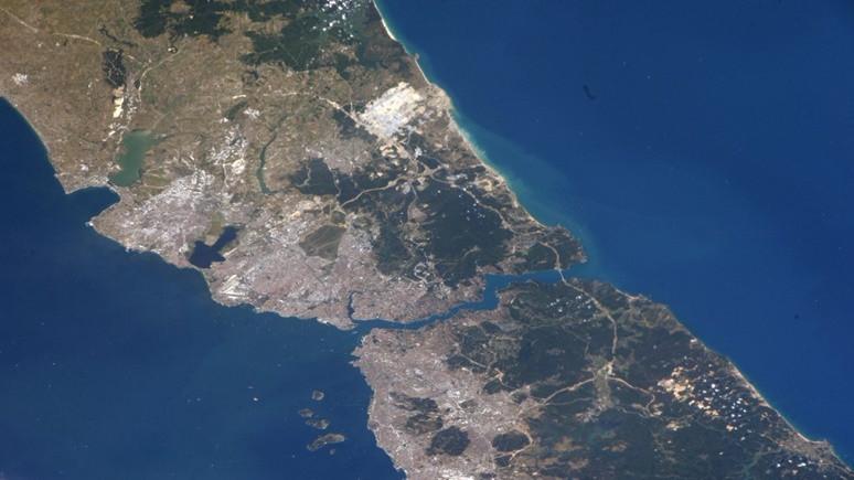 Uzaydan günaydın  İstanbul!