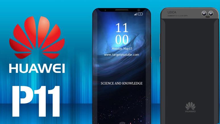 Huawei P11'in 40 megapiksel üçlü kamerası sızdırıldı