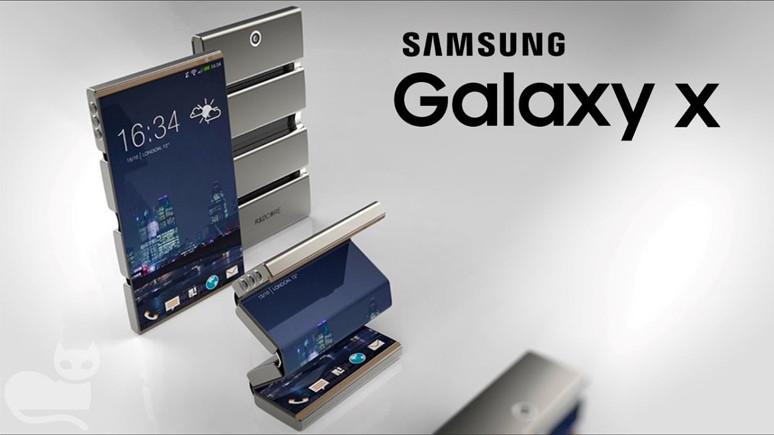 Samsung'un katlanabilen amiral gemisi telefonu sızdı