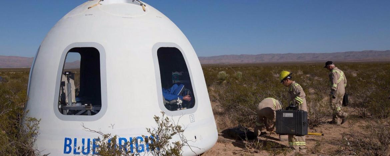 Blue Origin kapsülü ilk uçuşunu gerçekleştirdi