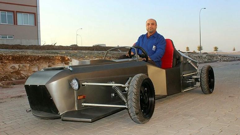 Karaman'daki üniversite'de elektrikli araç üretildi!