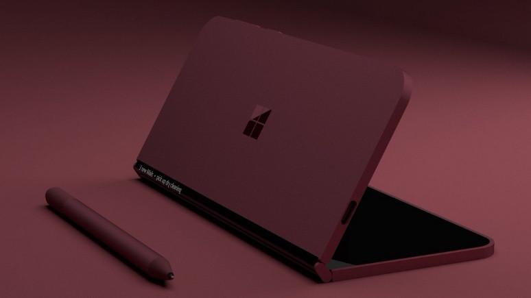 Microsoft'un katlanabilir tableti ortaya çıktı