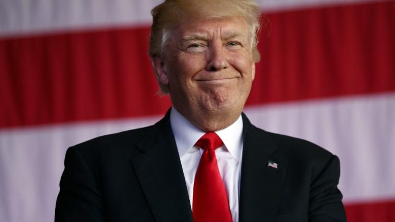 Herkese yasak, Trump'a serbest