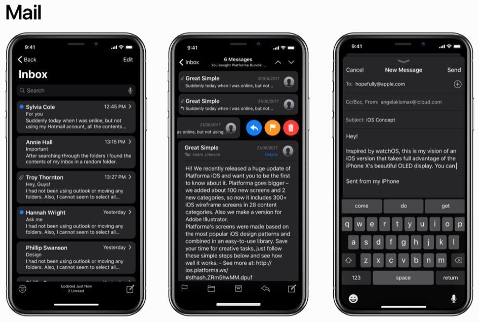 iOS 11 siyah tema ile nasıl görünüyor? - Page 4