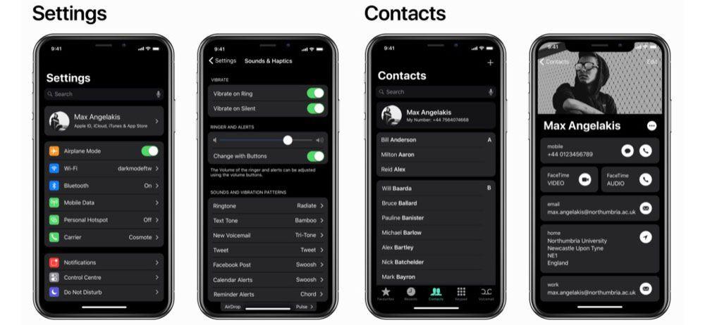 iOS 11 siyah tema ile nasıl görünüyor? - Page 2