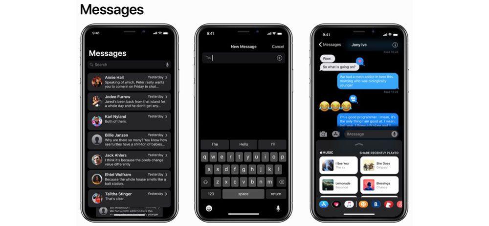 iOS 11 siyah tema ile nasıl görünüyor? - Page 3