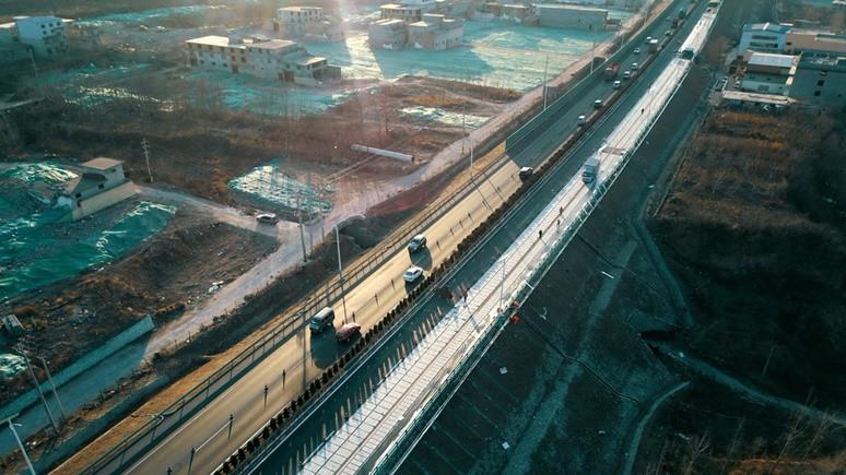 Çin'de şarjlı yol projesi!