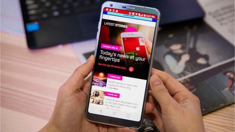 LG G6 için Android Oreo Beta çıktı!