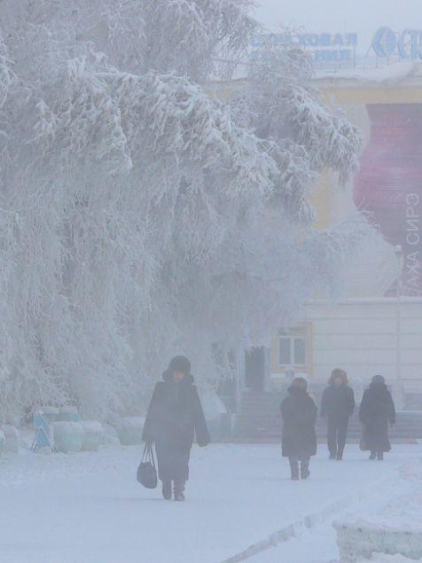 Eksi 64 derecede yaşayan Yakutsk kenti sakinleri - Page 4