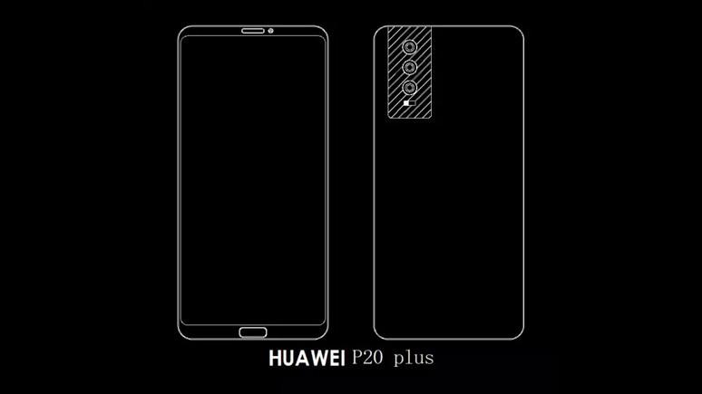 Huawei P20, P20 Plus ve P20 Pro tasarımları sızdırıldı