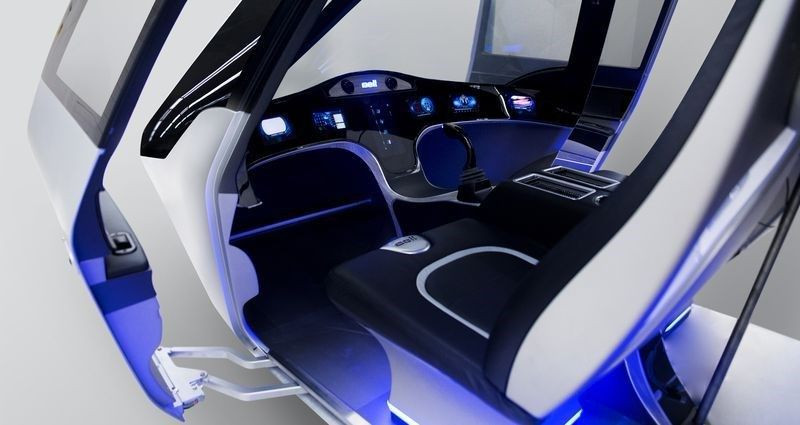 Elektrikli uçan taksi CES 2018'de tanıtıldı - Page 2