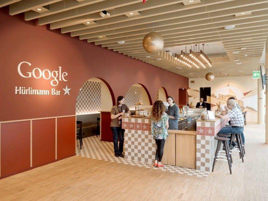 Google'ın göz kamaştıran Zürih ofisi - Page 4