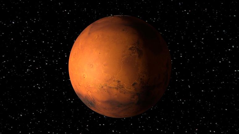 Mars'ta buzul tabakalar!
