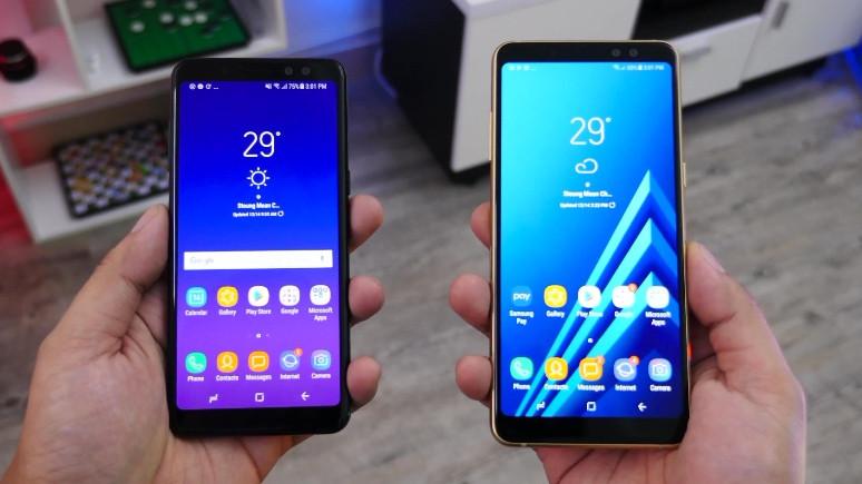 Galaxy A8 (2018)'in performans testi sonuçları açıklandı!