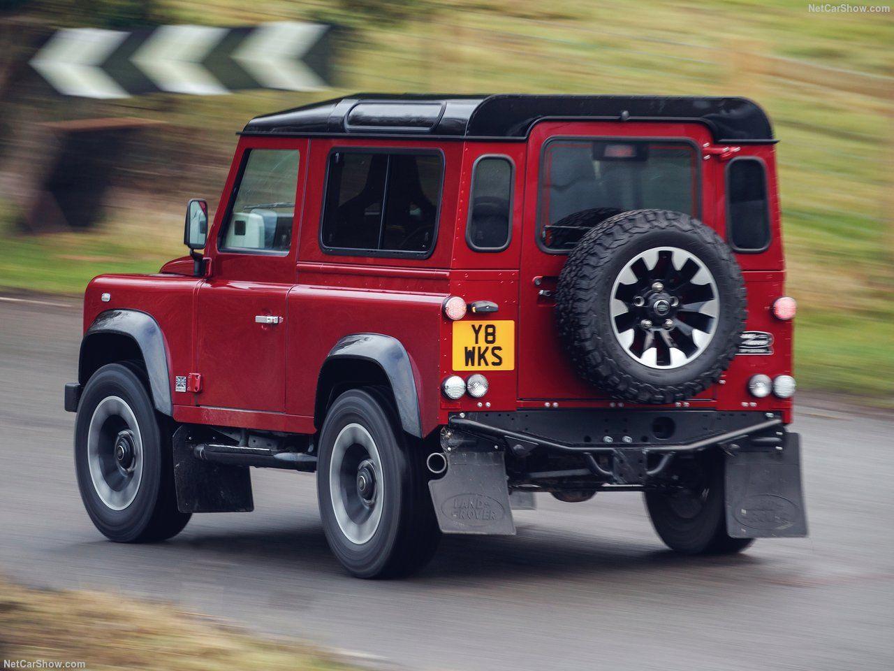 Land Rover Defender Works V8 - Page 1