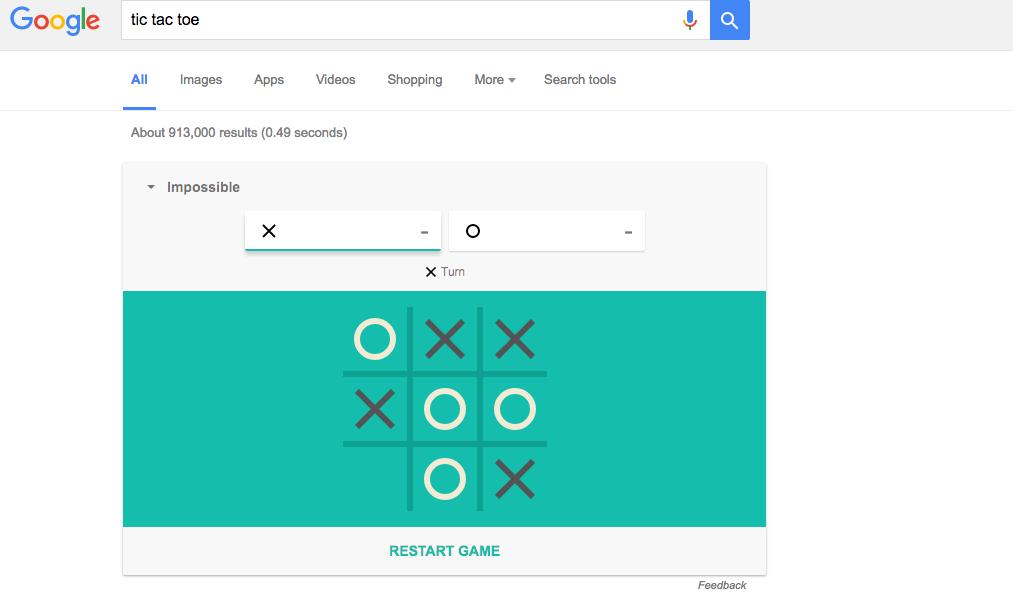 Google arama çubuğunuzda gizlenmiş 26 oyun ve püf noktası - Page 3