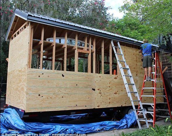 ABD'li üniversite öğrencisi 1400 dolara ev yaptı - Page 1