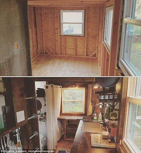 ABD'li üniversite öğrencisi 1400 dolara ev yaptı - Page 3