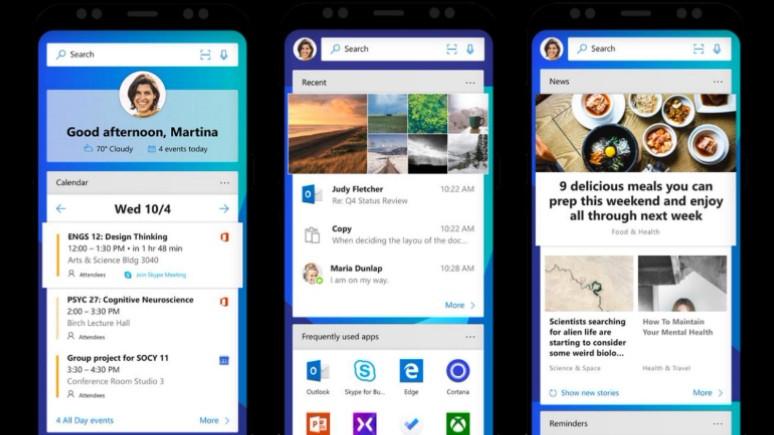 Microsoft Launcher yeni özelliklerle güncellendi