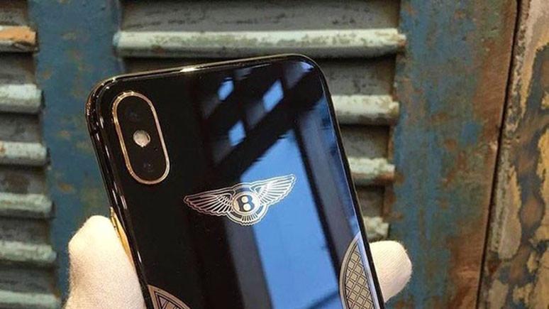 İşte en pahalı iPhone X, Bentley Edition!