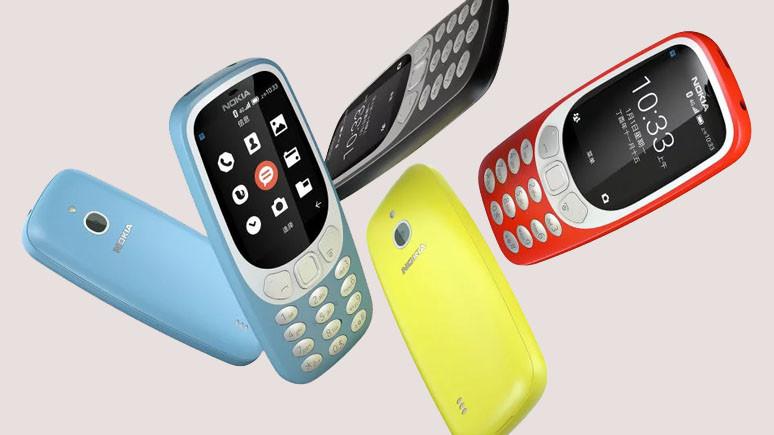 Nokia 3310 4G resmen tanıtıldı
