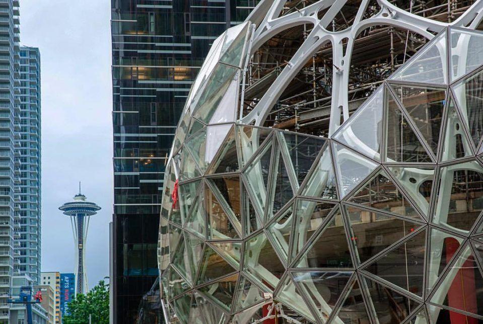 Amazon, ilham verme ümidiyle ofisini yağmur ormanlarına benzetti - Page 1