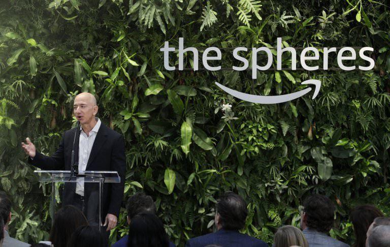 Amazon, ilham verme ümidiyle ofisini yağmur ormanlarına benzetti - Page 4