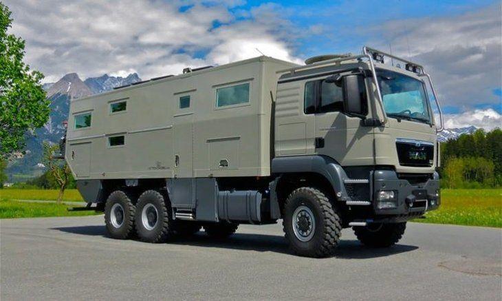 Zırhlı kamyon, lüks rezidansa dönüştü! - Page 1