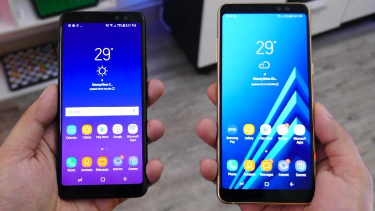 Galaxy A8+ (2018) için yeni güncelleme!