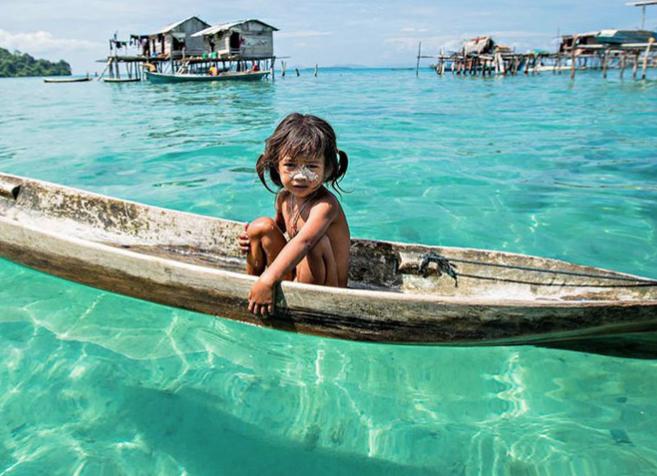 Su dünyasında yaşamaya şimdiden adapte olmuş toplumlar var - Page 1
