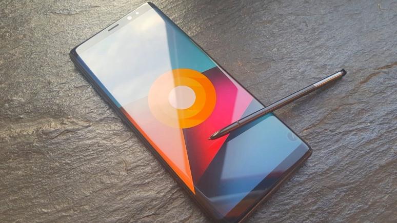 Android Oreo yüklü Note8'in görüntüleri sızdı!