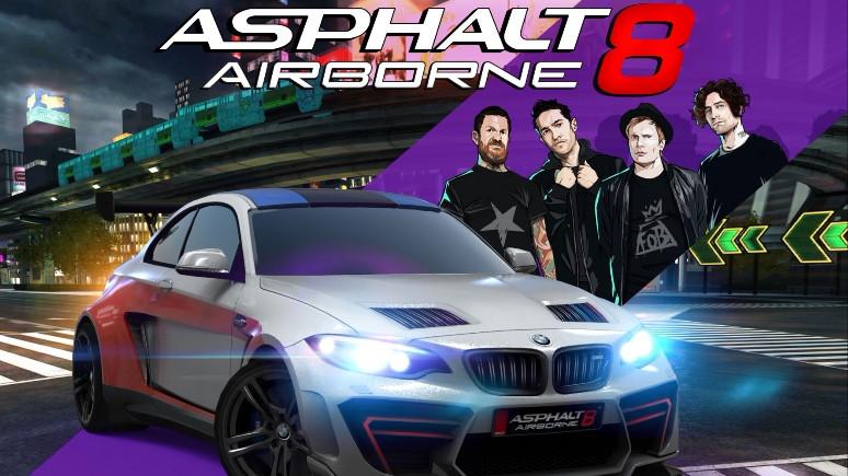 Asphalt 8: Airborne'a Fall Out Boy dopingi!