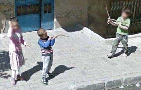 Street View'in Türkiye'de yakaladığı birbirinden ilginç görüntüler - Page 4