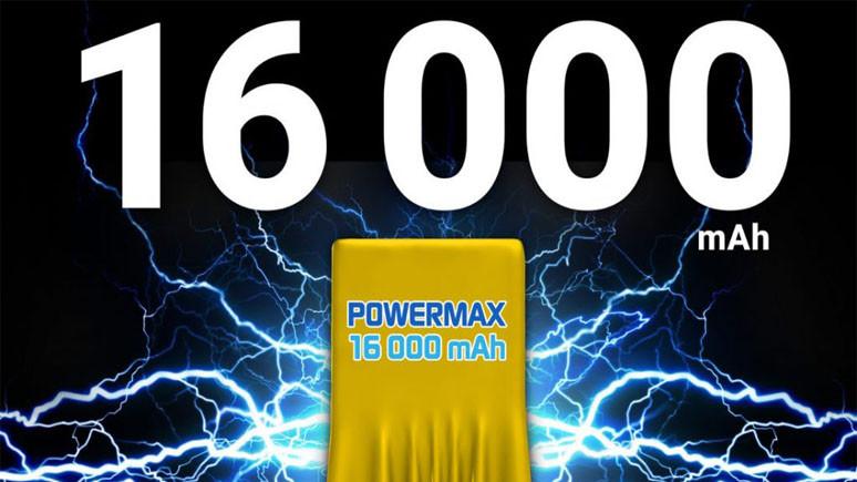 16.000 mAh pilli akıllı telefon!