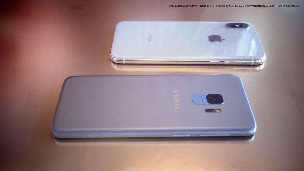 Galaxy S9 ile iPhone X yan yana! - Page 1