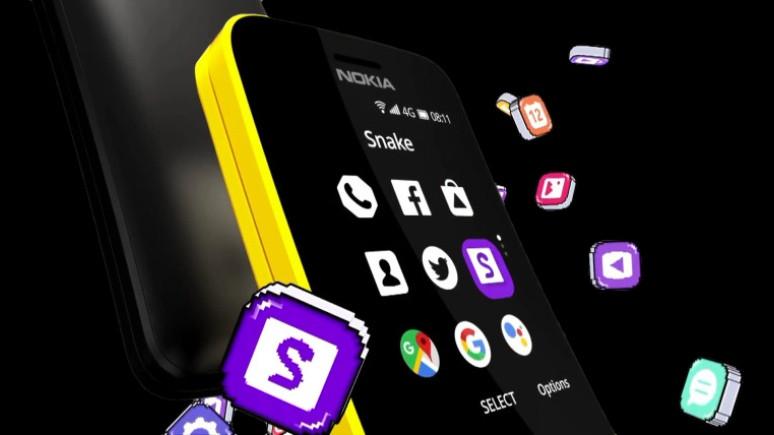 Yenilenen Nokia 8110 tanıtıldı!
