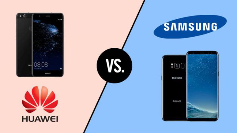 Huawei, Samsung ile alay etti