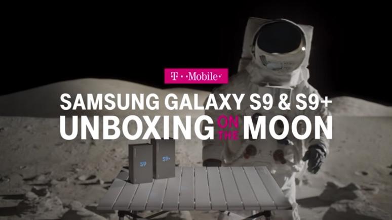 İlk Galaxy S9 kutu açılışı Ay'da gerçekleşti