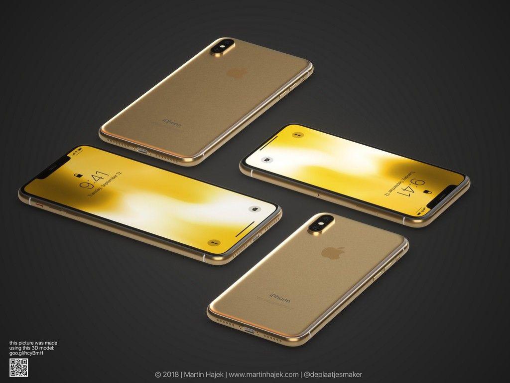 İşte şık tasarımı ile altın renkli iPhone X! - Page 1
